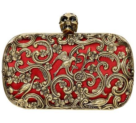 red-ornate-clutch