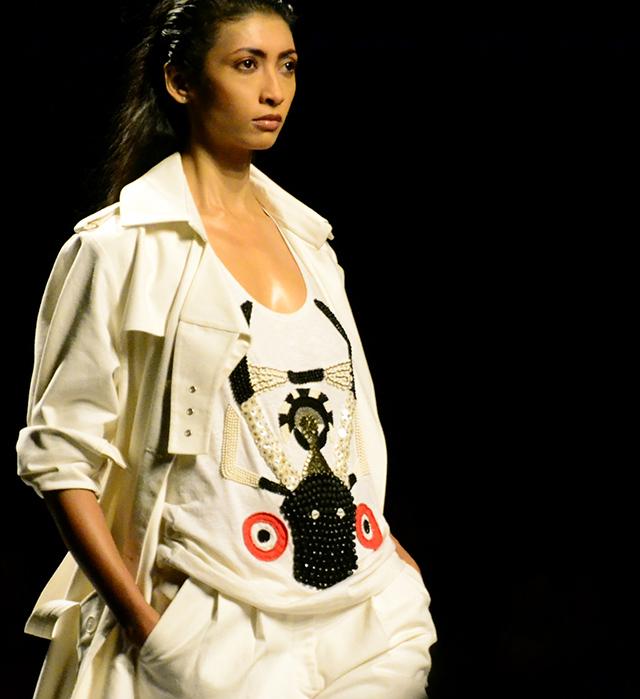 Atsu Sekhose - Wills India Fashion Week S/S '13