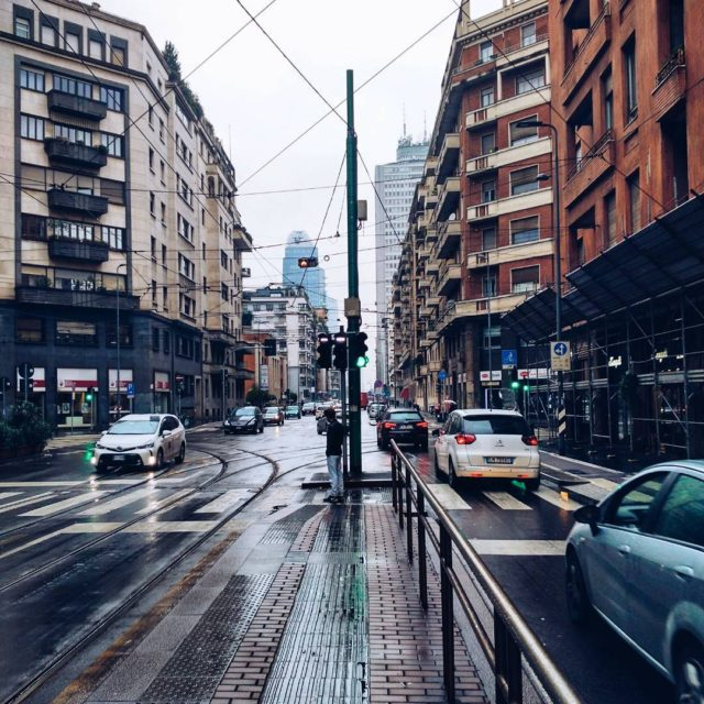 Dull cold rainy Milano My last day of this triphellip