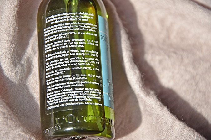Monsoon Hair Care by L'OCCITANE - The Scalp Tonic