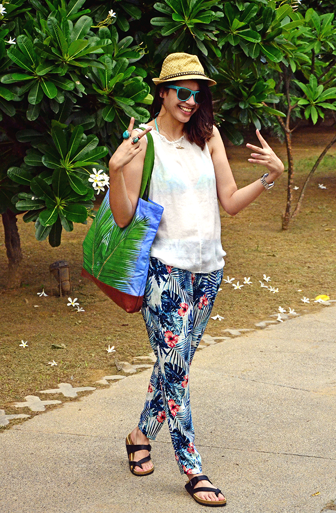 The Spa Getaway - Westin Sohna Resort & Spa - Outfit1
