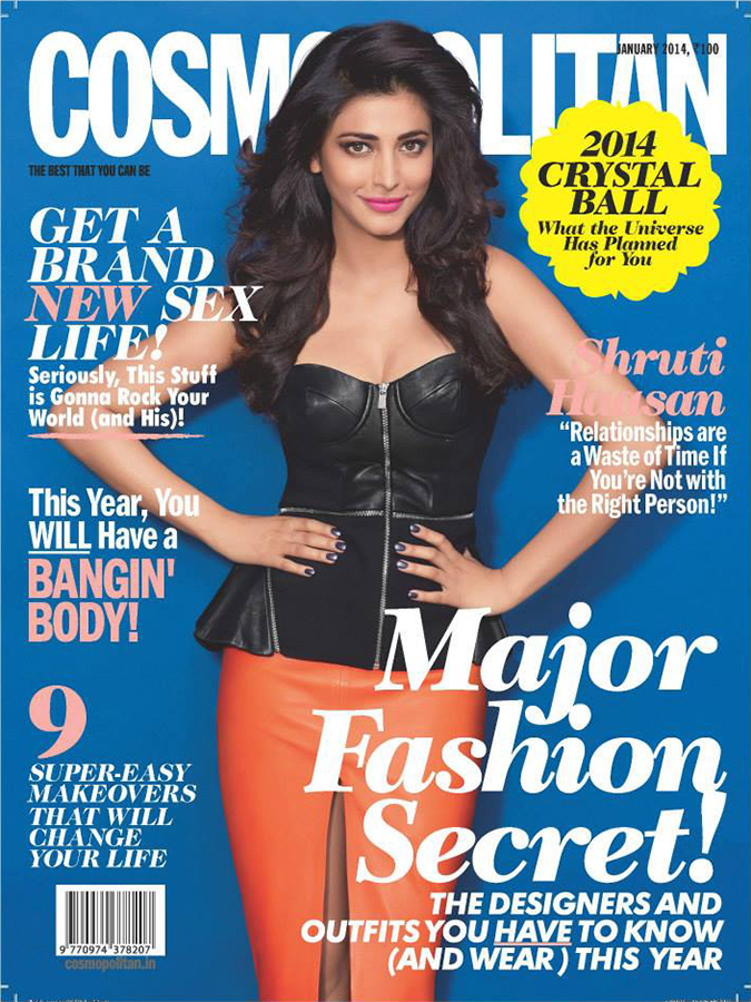 Cosmopolitan January 2014 | Feature | Cover