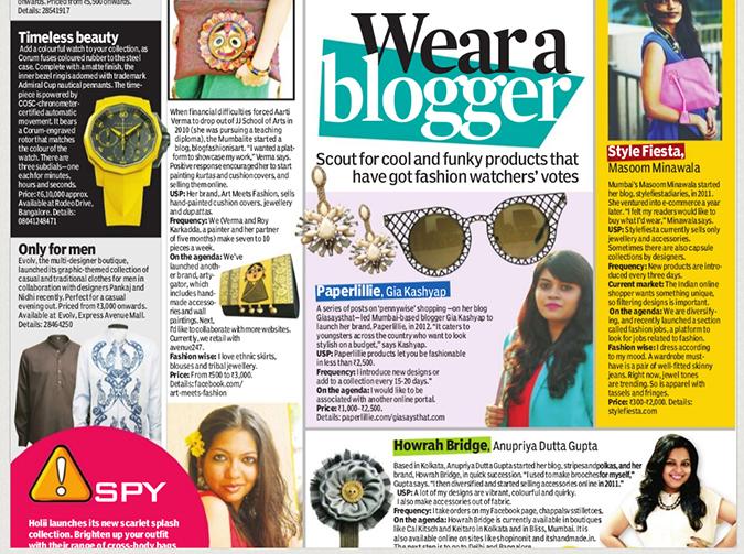 Media Feature | Indulge Chennai Newspaper | www.akanksharedhu.com