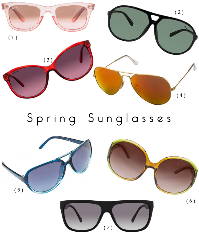 Spring Sunglasses Shopping | www.akanksharedhu.com |