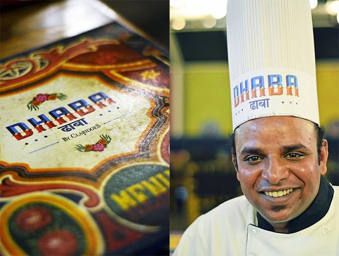 Dhaba by Claridges | www.akanksharedhu.com | Menu & Chef