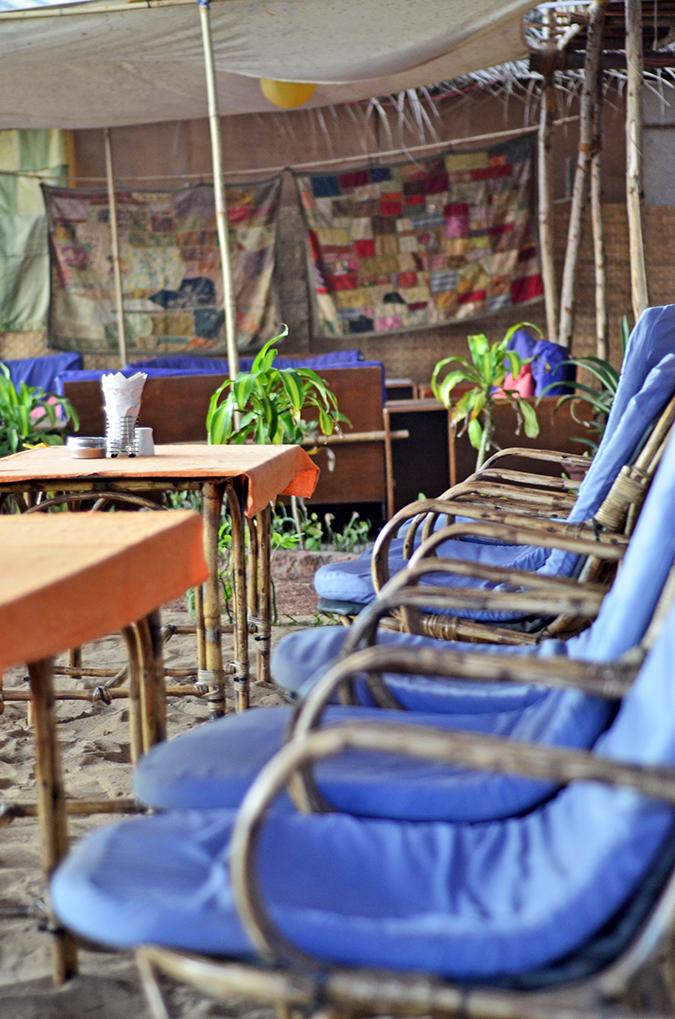 Agonda Beach   Goa   www.akanksharedhu.com   restaurant chairs