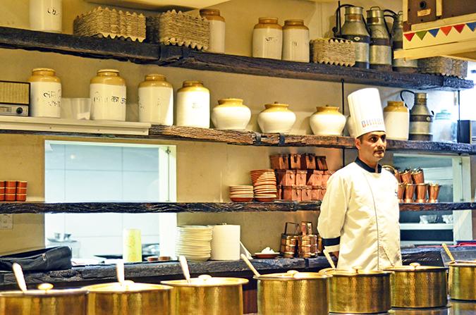Dhaba by Claridges | www.akanksharedhu.com | Kitchen
