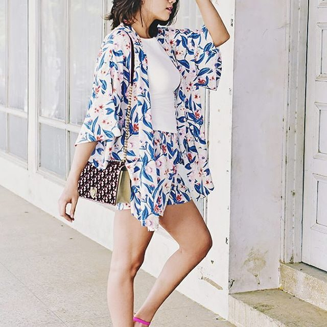 Matching kimono  shorts vibe in this total sbuys lookhellip