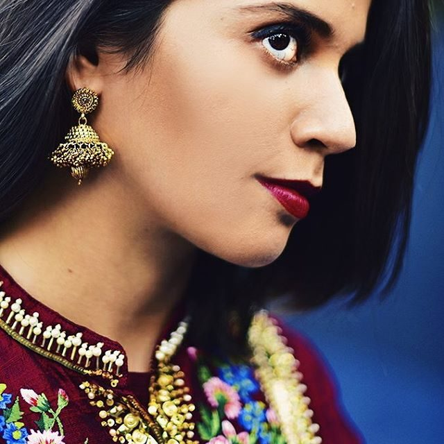 Earrings amp manisharorafashion dress from amazonfashionin Look for Day 01hellip