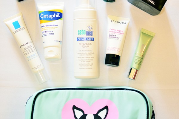 Current Skincare Routine | www.akanksharedhu.com |