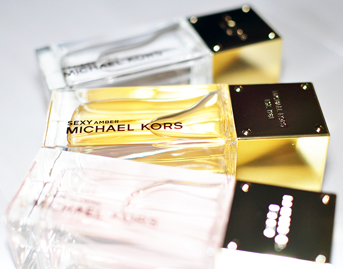 #SportySexyGlam | Michael Kors | all 3 focus on sexy bottle
