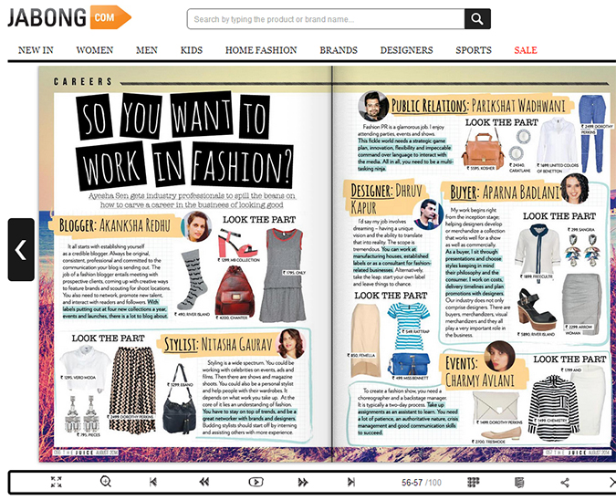 The Juice by Jabong { August 2014 } | www.akanksharedhu.com | full spread my bit