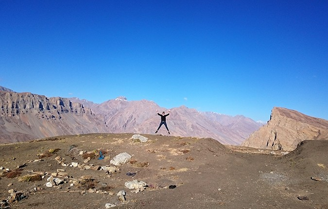 Himalayan Road Trip | Sony Xperia Z3 | jumping at 4444mt