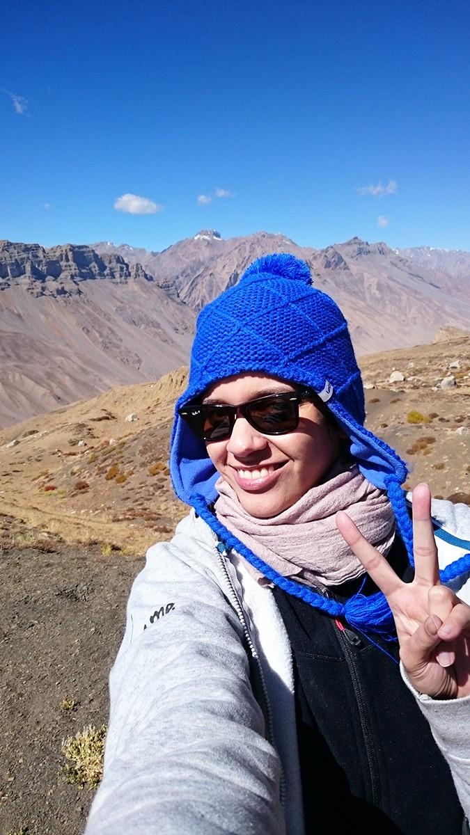 Himalayan Road Trip | Sony Xperia Z3 | selfie in blue cap