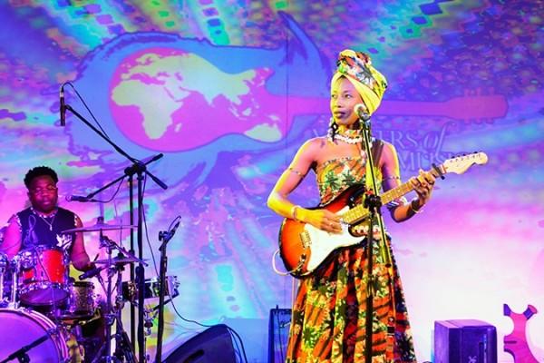Masters of World Music | Blackberrys Sharp Nights | Akanksha Redhu | Fatoumata Diawara on stage