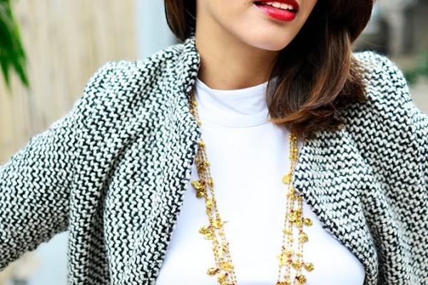 Gold Jewelry   LoveGold   #akanksharedhu   half front necklace