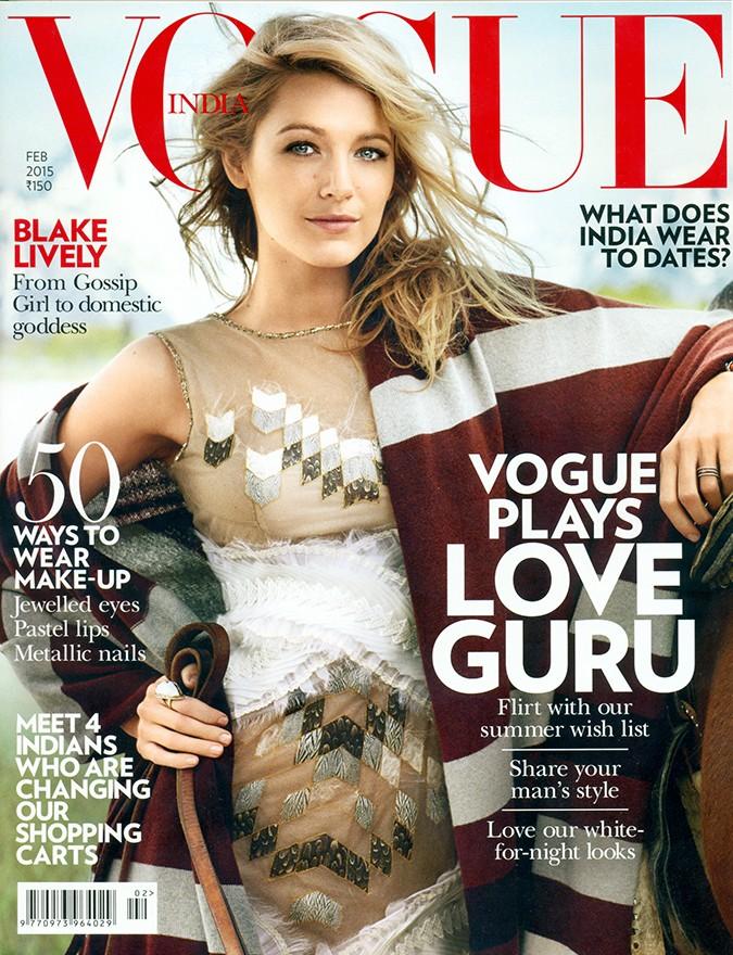 Vogue India   Feb 2015   Akanksha Redhu   cover