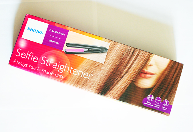 Philips - Selfie Straightener | Akanksha Redhu | packaging flat