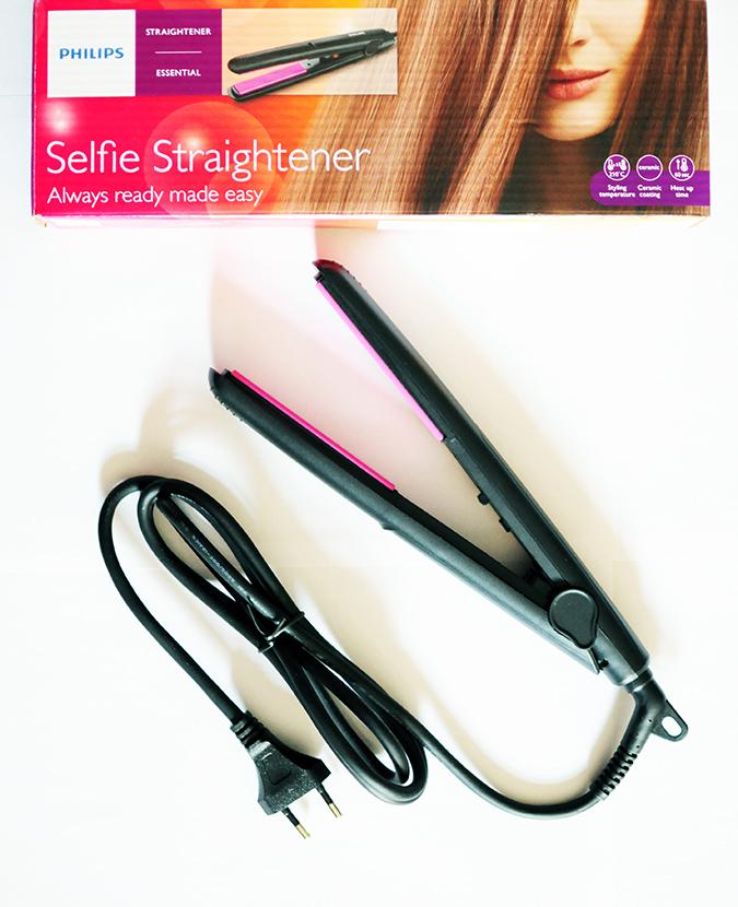 Philips - Selfie Straightener | Akanksha Redhu | carton and device long