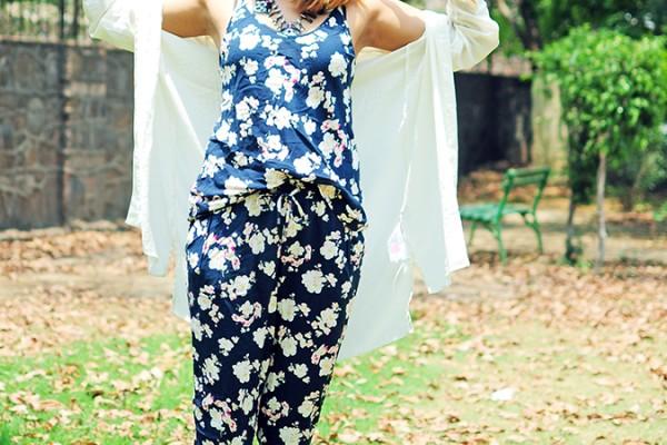 Summer Escape | Akanksha Redhu | full front arms up shirt wide