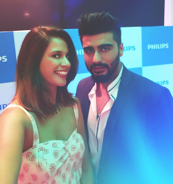 Philips Bodygroomers Launch with Arjun Kapoor | Akanksha Redhu | in selfie