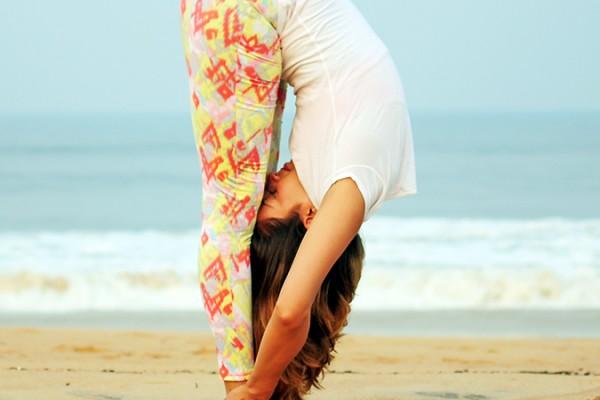 Yoga | Uttanasana - Standing Forward Bend Pose