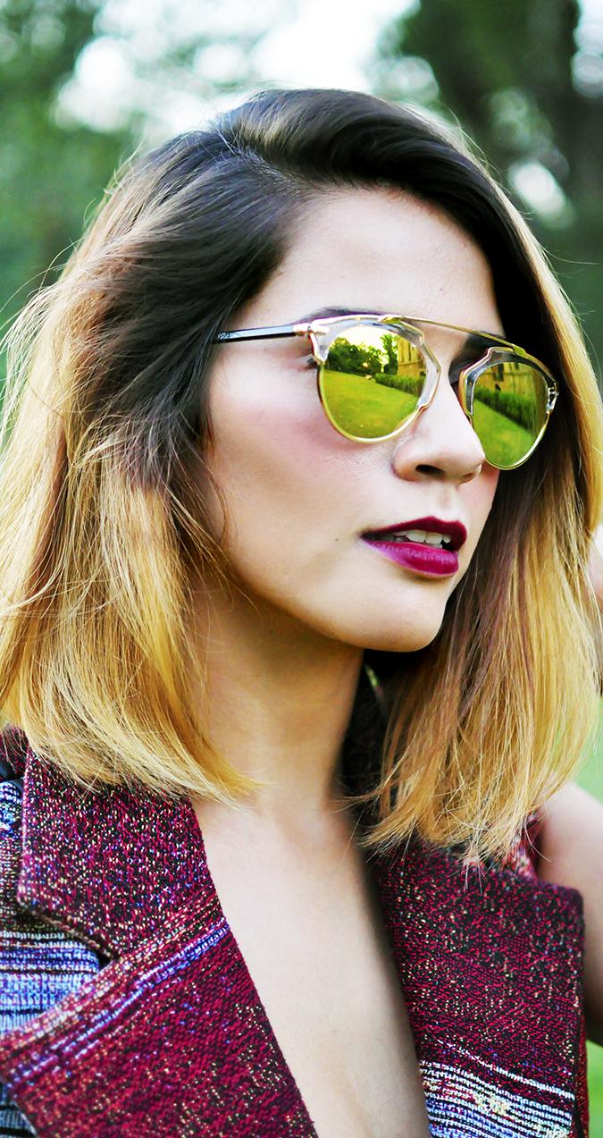 #AIFWSS16 | Dior | Akanksha Redhu | face close long sun