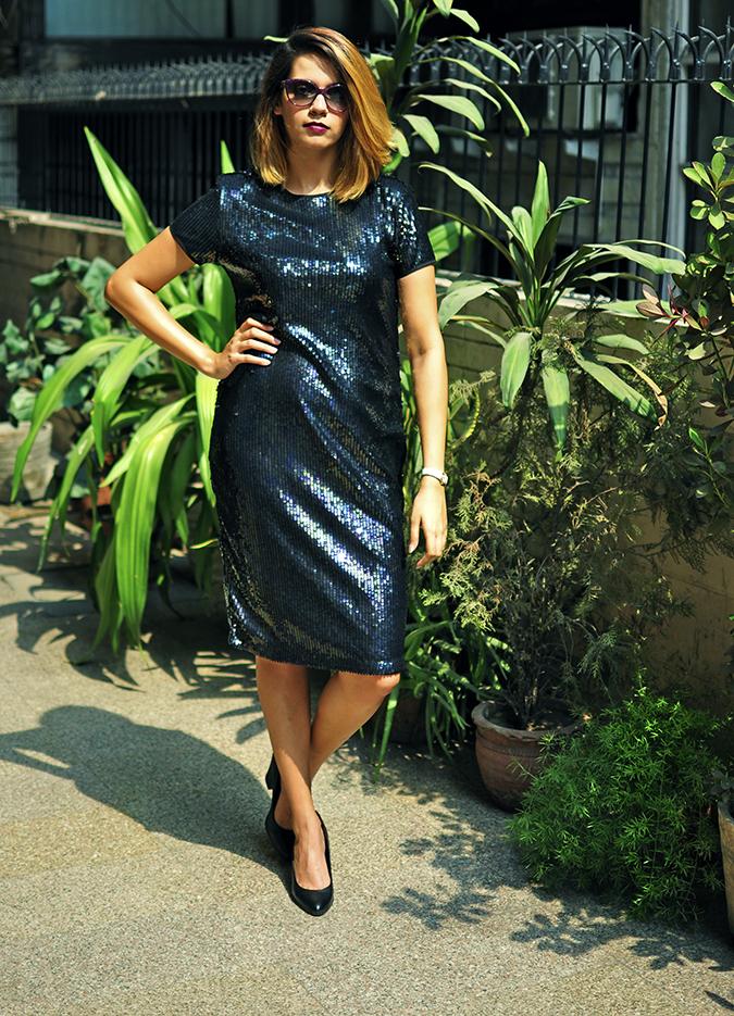 Vero Moda Marquee | Akanksha Redhu | full front legs joined