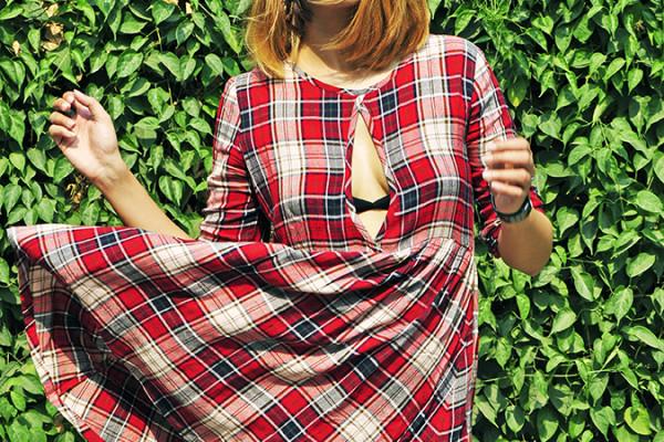 Sbuys | Akanksha Redhu | half front dress fly
