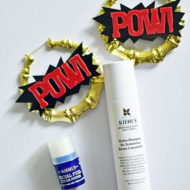 Some powpow products for the skin kiehlsindia HydroPlumping ReTexturing Serumhellip