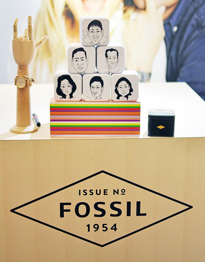 Holiday Season with Fossil | Akanksha Redhu | tins stacked