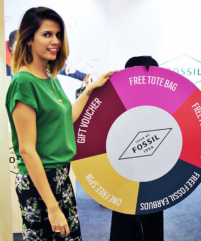 Holiday Season with Fossil | Akanksha Redhu | spin wheel