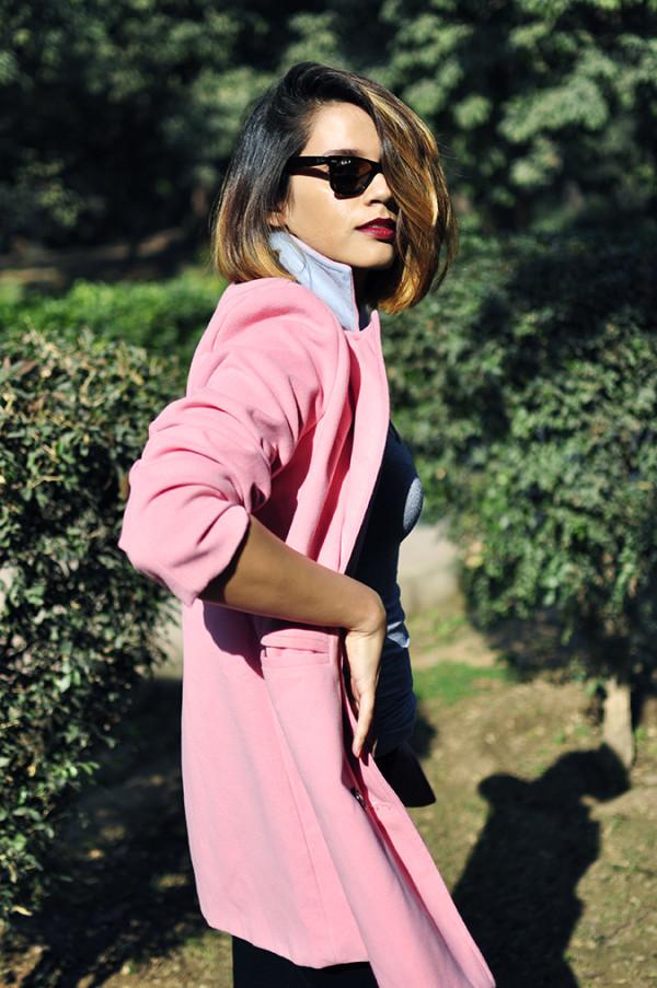 Fresh Pink | #ootd | Akanksha Redhu | half front swingy