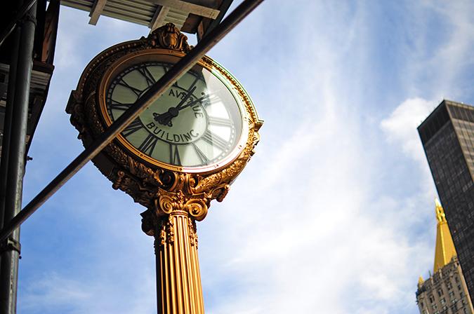 #RedhuxNYC | clock