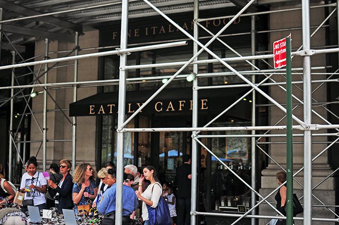 #RedhuxNYC | eataly exterior