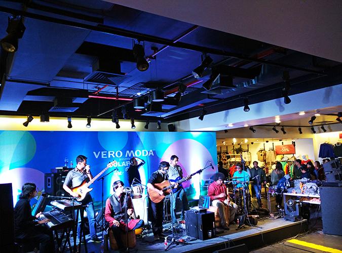 Sula Fest Pre-Party | Vero Moda | Akanksha Redhu | band wide