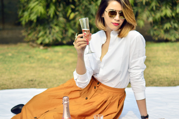 Valentine's Day Ready | Chandon India | Akanksha Redhu | sitting glass in hand