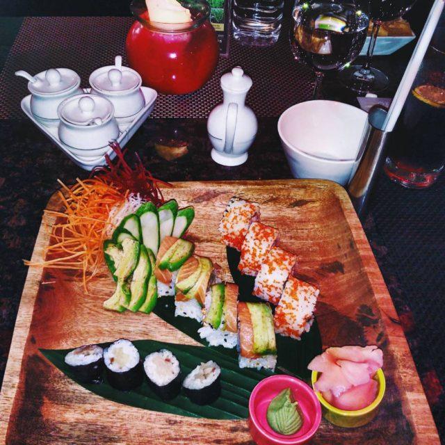 I scream You scream For sushaayyyy! Sushi dreams at Okahellip