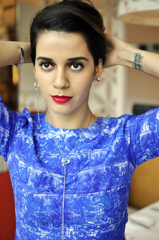 Melorra Jewelry | Akanksha Redhu | half front front face hair up