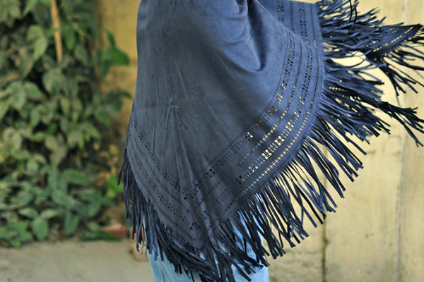 Suede   Only India   Akanksha Redhu   half side cape fly