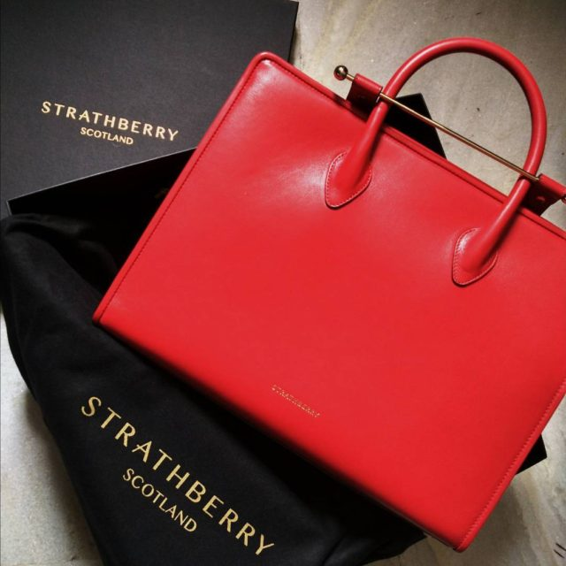 THE most stunning natural leather bag by strathberry in thehellip