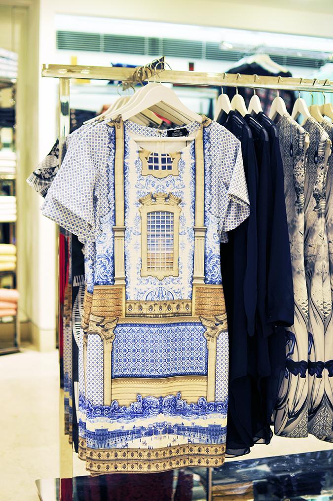 Wills Lifestyle | Akanksha Redhu | palace print dress hang