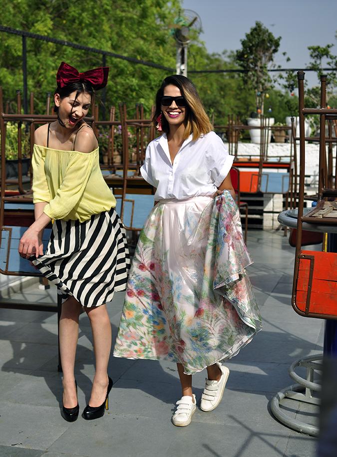 Oxolloxo | Akanksha Redhu | full front eva skirt and me
