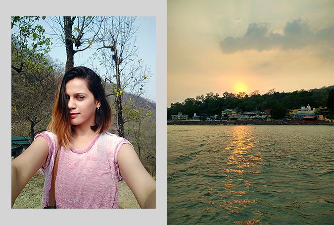 Rishikesh   Akanksha Redhu   sunset selfie combo