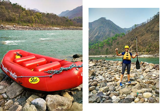 Rishikesh   Akanksha Redhu   raft combo