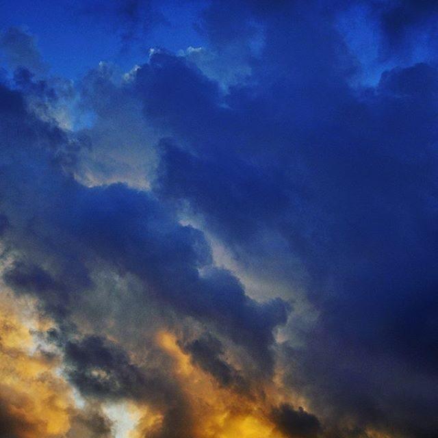 The fierce Balinese sky in todays new blog post httpakanksharedhucomhellip