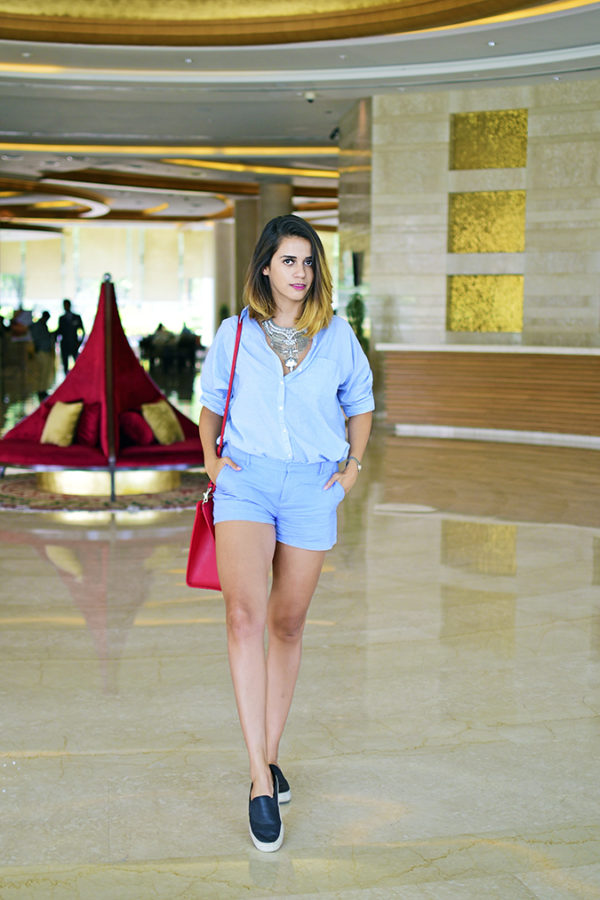 The Lalit Chandigarh | Akanksha Redhu | full front hotel lobby