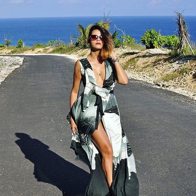 New Blog Post Pantai Melasti  Bali wearing this stunninghellip