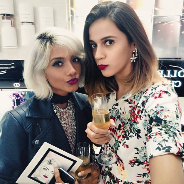 Yesterday at selectcitywalk welcoming diormakeup to India with this cutiehellip