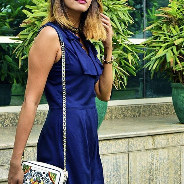 A lovely blue playsuit from sbuys to spend the dayhellip